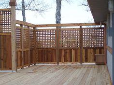 privacy deck idea