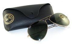 Ray Ban RB3026 Aviator II Sunglasses-L2846 Gold Gold (G-15XLT Lens)-62mm
