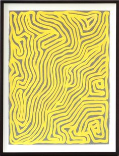 Sol LeWitt, Parallel Curves, 2000, gouache on paper, 75 x 57,2 cm. Courtesy Konrad Fischer Galerie.