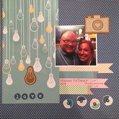 Date night using shimelle's true stories - Scrapbook.com