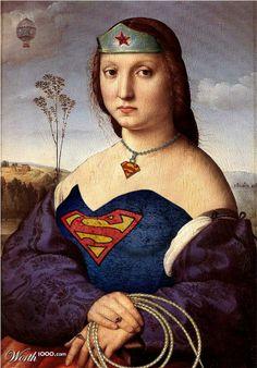 Renaissance Superwoman By alicinam