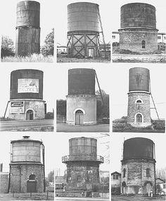 Water Towers: (Bahnhof) | Bernd and Hilla Becher
