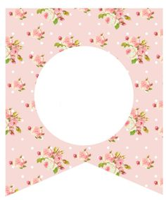 floral - vintage Happy Birthday Banner Printable, First Birthday Banners, Printable Banner, Printable Crafts, Printables, Owl Theme Classroom, Eid Cards, Kitty Images, Printable Pictures