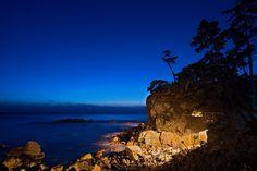 Blue Beginnings  Naksansa Temple hours before the first sunrise of 2015 in Yangyang, Gangwon-do, South Korea.   http://www.mattmacdonaldphoto.com