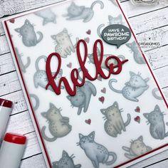 Cats nd Crafts Cat Birthday, Birthday Cards, Cats, Handmade, Decor, Bday Cards, Gatos, Hand Made, Decoration