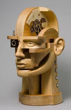 Sculpture by John Morris - ego-alterego.com