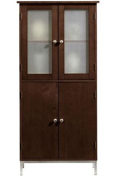 shallow depth pantry cabinet