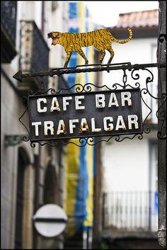 Café-Bar Trafalgar, Santiago de Compostela. A classic bar in the Franco area. Do ask for their special, Tiger Mussels