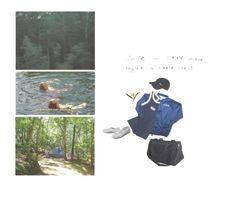 """Kun #23"" by lemonducky ❤ liked on Polyvore featuring NIKE, Superga, Prada, Grace, men's fashion and menswear"