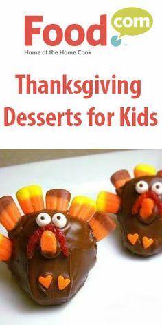 Thanksgiving Desserts for Kids