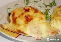 Dubarry csirkemell ahogy Zsuzsi készíti | NOSALTY My Recipes, Favorite Recipes, Hungarian Recipes, Poultry, Cauliflower, Macaroni And Cheese, Food And Drink, Chicken, Dinner