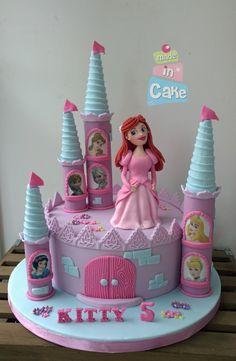 Ballerina pink ruffle cake For little girls Pinterest Pink