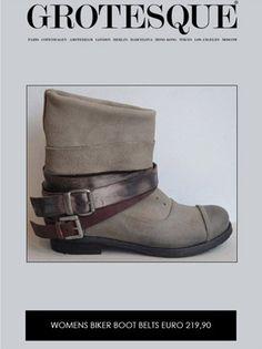Buy Woodland Black Ankle High Biker Boots Online at best