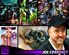 *PIN to WIN* Meet Joe Corroney at #SLCC15! He's been creating official Star Wars artwork for Lucasfilm since 1997. #utah