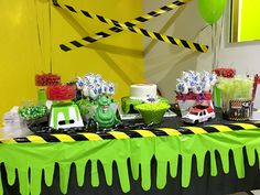 Ghostbusters Candy Table