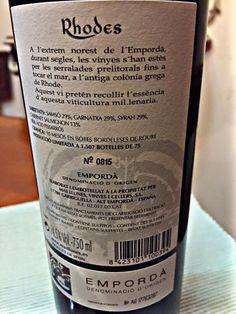 El Alma del Vino.: Mas Llunes Vinyes i Cellers Rhodes 2010.