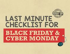 "Check out new work on my @Behance portfolio: ""Cyber Monday - Checklist"" http://be.net/gallery/45521535/Cyber-Monday-Checklist"