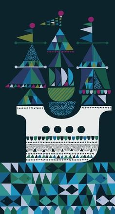 Sanna Annukka #Illustration via Ourhaus #illustration