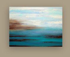Large Original Abstract Acrylic Painting Title: by OraBirenbaumArt