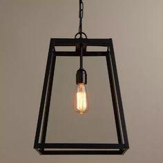 lampara colgante de hierro estilo industrial joy market