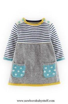 Baby Knitting Patterns Baby Knitting Patterns Mini Boden Sweet Knit Sweater Dress (...