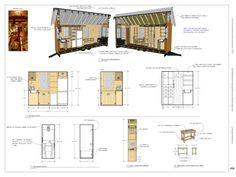 free tiny house plans 160 sq ft rolling bungalow photo - Tiny House Blueprints
