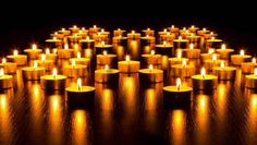 Glowing Candles