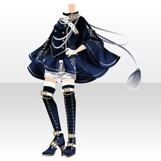 Manga Clothes, Drawing Clothes, Anime Outfits, Boy Outfits, Chibi Hair, Anime Dress, Model Outfits, Anime Hair, Star Girl