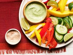 Tex-Mex Veggie Platter from #FNMag - Perfect for Cinco de Mayo celebrations!
