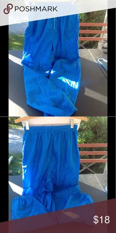 5a2b7965811 Mens nike rain pants. They are a size small