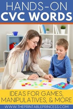 Is your CVC word practice needing a makeover? These 13 manipulatives for teaching CVC words will bring new energy to your CVC word work lessons. From hands-on and digital CVC activities to alphabet manipulatives and CVC word work games, your students will have a blast working on words.