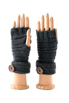 Millie Wool Blend Fingerless Gloves on HauteLook