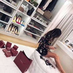 Room closet, girl closet, walk in closet, walk in wardrobe, rich lifestyle Girl Closet, Room Closet, Closet Space, Boujee Lifestyle, Luxury Lifestyle Fashion, Walk In Wardrobe, Walk In Closet, Luxe Life, Life Of Luxury