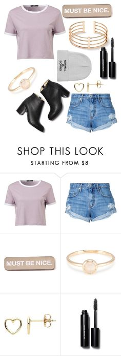 """""""Normal Is Boring..."""" by parislove05 ❤ liked on Polyvore featuring Nobody Denim, RIPNDIP, Estella Bartlett and Bobbi Brown Cosmetics"""