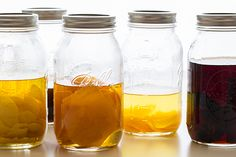 Homemade extracts - great for cooking or flavoring drinks