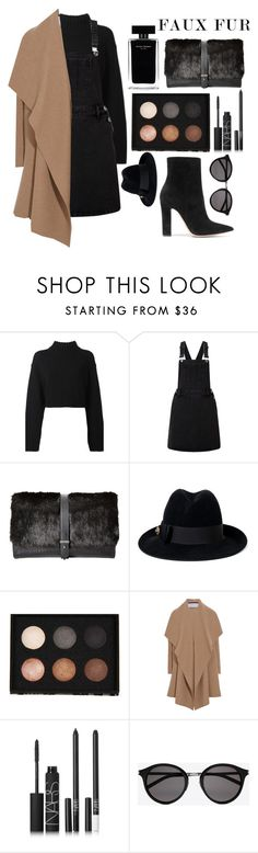"""""""plain jane"""" by blessing2002 ❤ liked on Polyvore featuring DKNY, Lipsy, Sam Edelman, Gucci, LORAC, Harris Wharf London, Narciso Rodriguez, NARS Cosmetics, Yves Saint Laurent and Gianvito Rossi"""