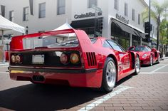 Sold from 1987 to 1992, the F40 was a no-nonsense race car for the road, with no luxury touches to speak off. But with a 478-horsepower, twin-turbocharged V8 and a top speed of 201 mph on tap, who needs luxury?