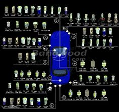 Blanc pur 1156 1206 85smd ampoule LED pour tous font voiture avec large utilisat - €3.68
