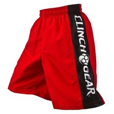 Clinch Kids MMA Shorts Kids Mma, Mma Shorts, Young Ones, Black And White, Red Black, Champion, Dads, Youth, Fashion