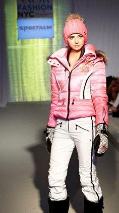 Sport Alm Ski Wear and Apres Ski Wear Show of Winter Fashion Collection 2013-14