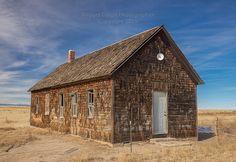 Cowans School, Lincoln County, Colorado | by Bridget Calip - Alluring Images