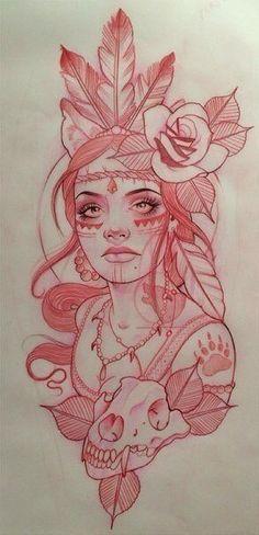 Tattoos And Body Art tattoo stencils Art Drawings Sketches, Tattoo Sketches, Tattoo Drawings, Cool Drawings, Body Art Tattoos, Tattoo Ink, Native Drawings, Mama Tattoo, Rose Drawing Tattoo