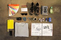 Essentials: Alexia Hentsch of Hentsch Man Flat Lay Photography, Clothes Horse, Hypebeast, Essentials, Design Inspiration, Edc, Study, Marketing, Search