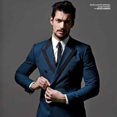 "372 Likes, 9 Comments - David Gandy (@ohmygandy) on Instagram: ""Loving that @dolcegabbana suit! 😱😍😍 #DavidGandy for @gqthailand by @ramshergill 😱😍😍"""
