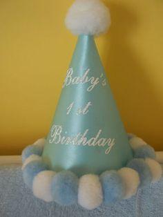 Boys 1st Birthday Hat