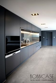 분당 판교 산운마을 10단지 24평형 인테리어 (바비케이스) : 네이버 블로그 Long Narrow Kitchen, Open Plan Kitchen Dining Living, Living Room Kitchen, Home Decor Kitchen, Kitchen Design Open, Luxury Kitchen Design, Interior Design Kitchen, Modern Kitchen Interiors, Cuisines Design