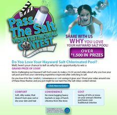 Pass the salt video contest