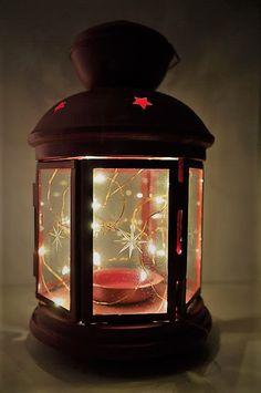 Tales from a Buttonhole: Vánoční světýlka / Christmas light decorations