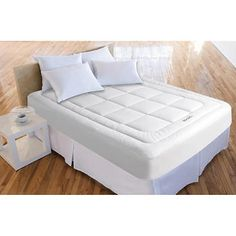 """SleepBetter™ Iso-Cool® by Isotonic® 3"""" Memory Foam Mattress Toppers"""