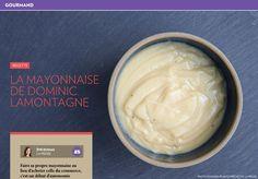 La mayonnaise de Dominic Lamontagne - La Presse+ Sauces, Commerce, Salsa, Dips, Eat, Table, People, Desserts, Recipes